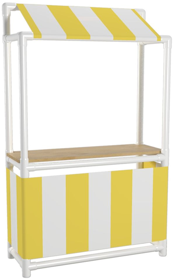 PVD Pipe Lemonade Stand.  25  things to make with PVC Pipe