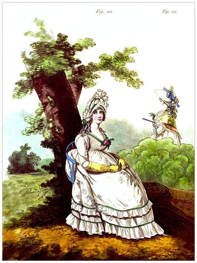 Abiti da mattina. Ottobre 1796.