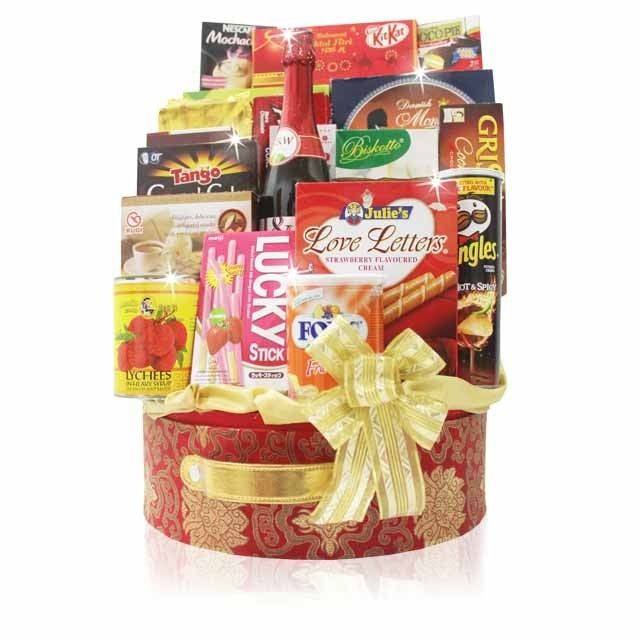 PARCEL LEBARAN HEART	 Eid Ul Fitr Hamper consist of Cookies, Biscuits, Coffee, Candy, Sparkling Juice and more. Presented in Exclusive Box