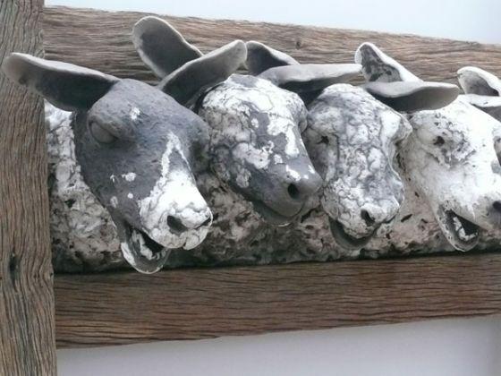 Garry Jones - his sculptures are brilliant #1200degreesceramics.com