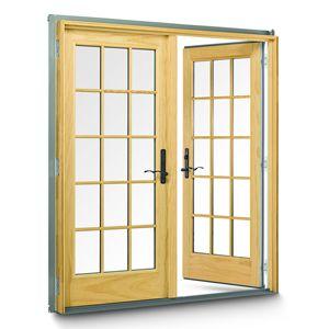 Anderson 400 Series Frenchwood Hinged Patio Door