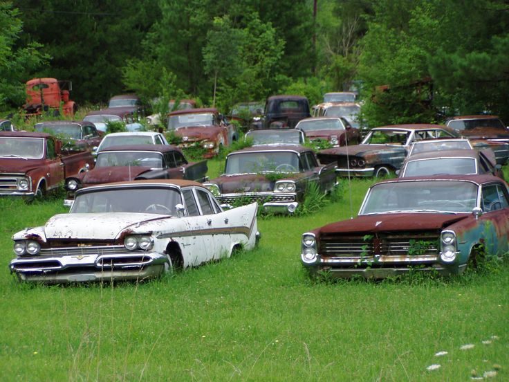 Salvage yards junk cars 11