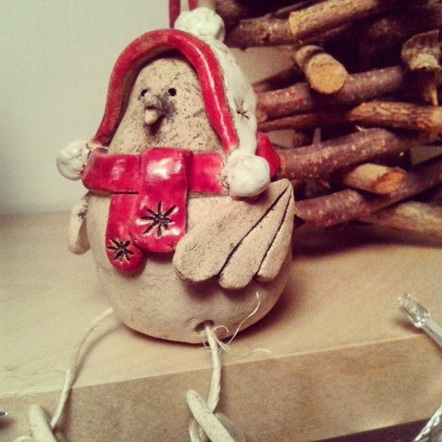 #keramika #ceramics #zima #ptacek