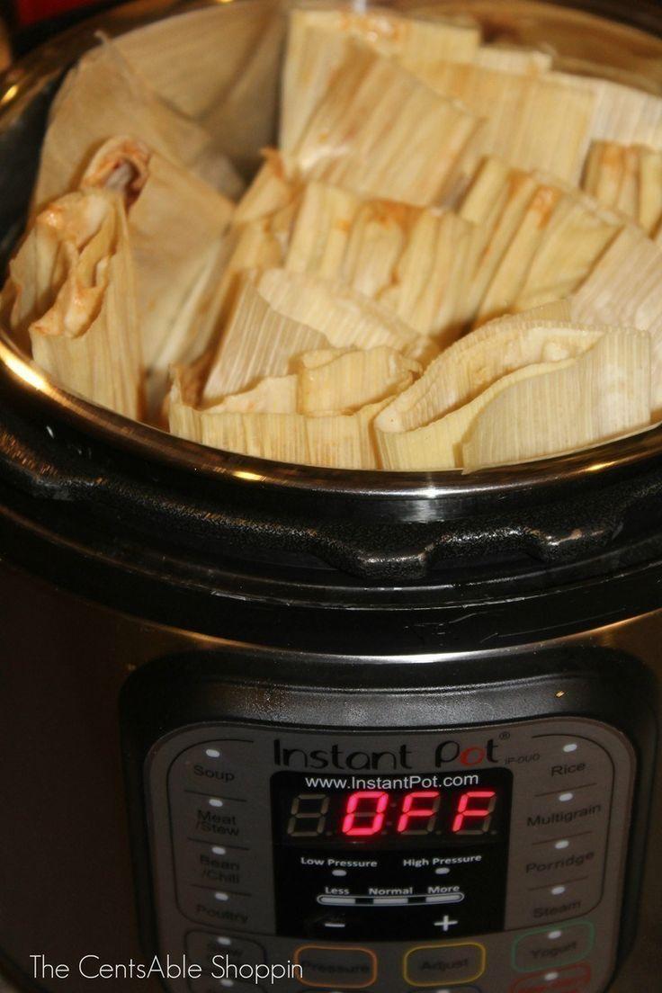 Mexican Tamales {Instant Pot Recipe}