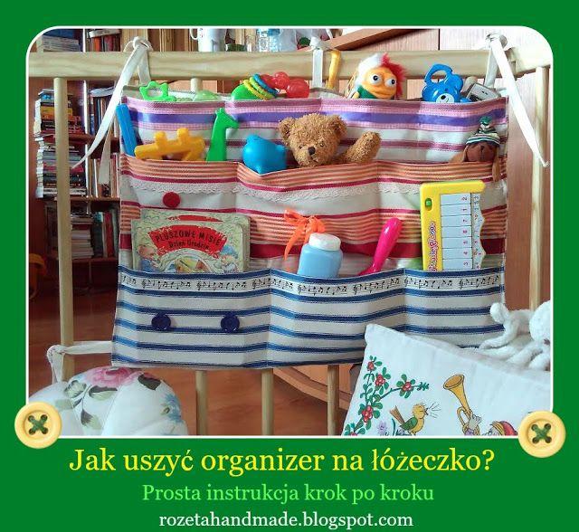 Rozeta handmade, jak uszyć organizer, organizer diy, diy ideas, how to sew organized