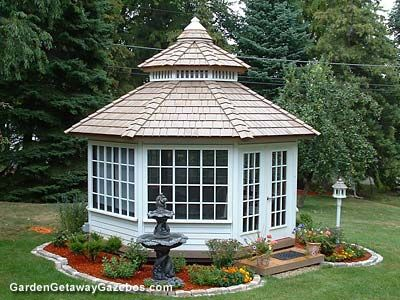 enclosed gazebo