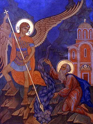 Архангел Гавриил и Илья Пророк. Михаил Потапов художник