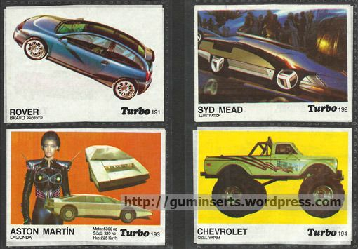 Turbo 191-260 | My Bubble Gum Inserts Collection