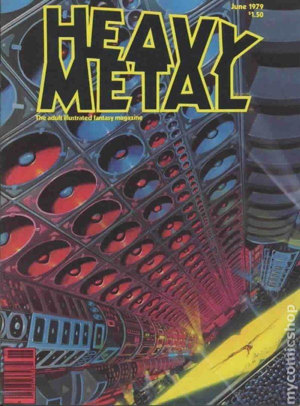 Heavy Metal Magazine Covers - M̲elt