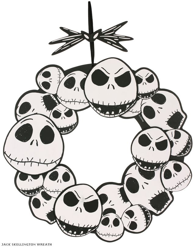 It's just a graphic of Gorgeous Printable Nightmare Before Christmas