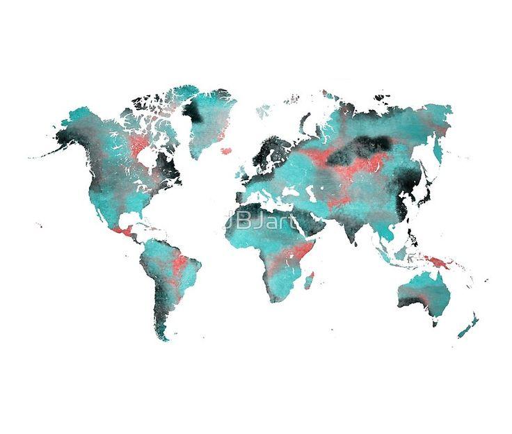 world map 125 art #worldmap #map