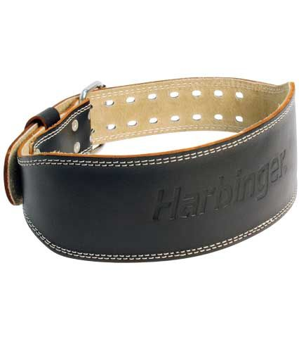4″ Padded Leather Belt « Harbinger Fitness