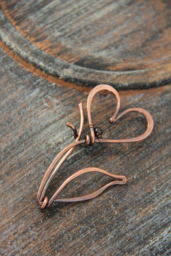 119 best броши images on Pinterest | Wire jewelry, Wire wrap jewelry ...