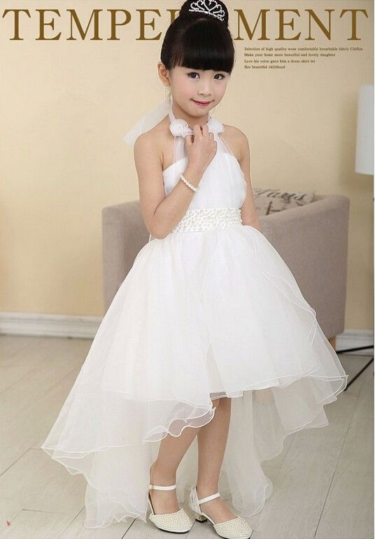 2015 high grade flower girl wedding party performance costume children brand clothing girl dresses white-in Dresses from Mother & Kids on Aliexpress.com | Alibaba Group