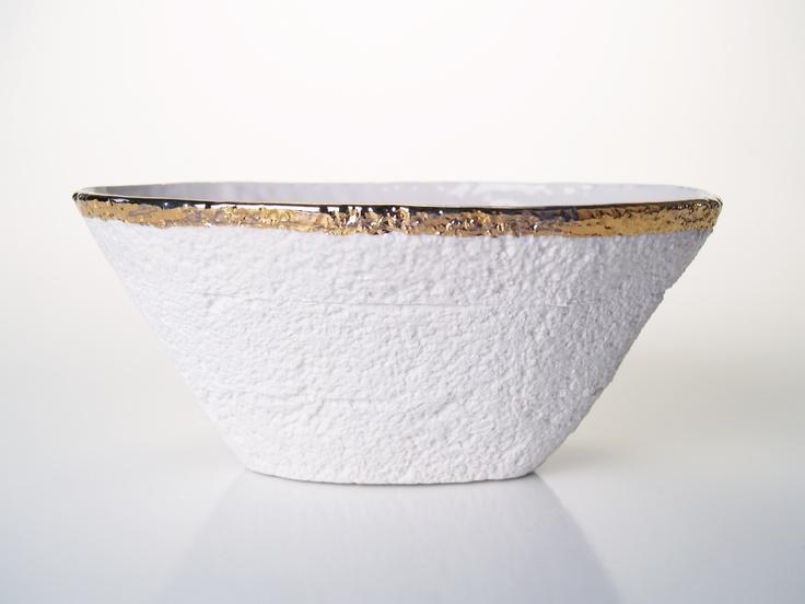 Oval Styro Bowl from GDG Studios