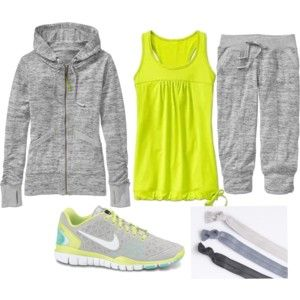 Maybe I would workout more.... - Polyvore I want this entire outfit!