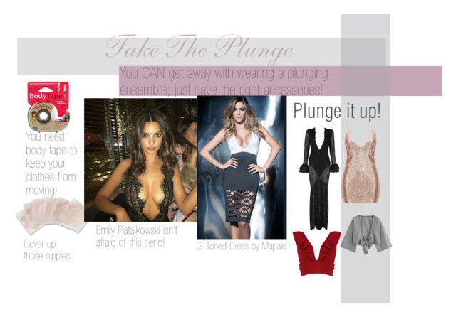 How much cleavage is too much? It's never too much; you just need the right tools! Grab some of our body tape and nipple covers and you're good to take the plunge! #ootd #outfitideas #trending #trendy #celebritystyle #celebrityoutfits #plunging #cleavage #emilyratajkowski #dress #tops #funfashion