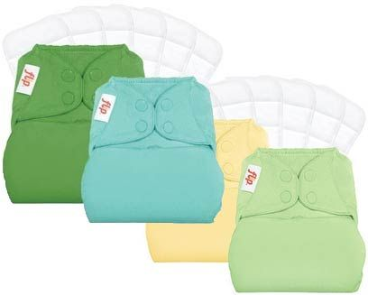 Flip Newborn Day Pack - The Newborn Diaper that grows with your baby! - Cozy Bums Diapers, Prince George, BC. Free shipping over $99!