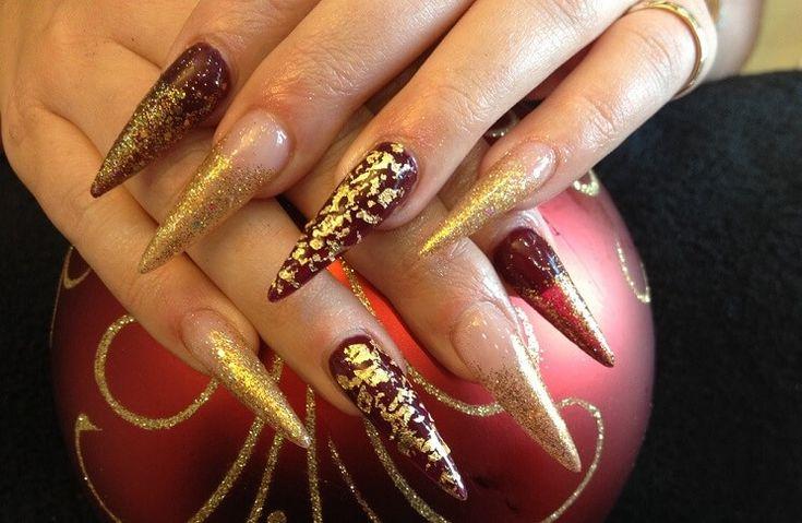 Top 4 Gold Nail Polish Shades and Ideas http://beautifullyalive.org/gold-nail-polish-ideas/