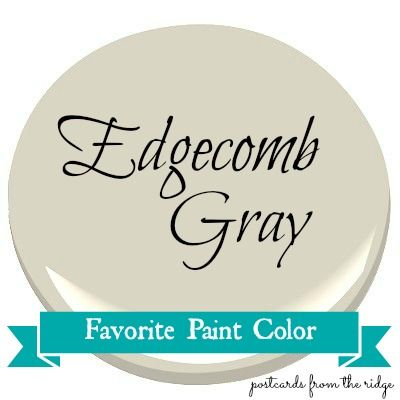 Benjamin Moore Edgecomb Gray - click the link for real life examples in several different spaces