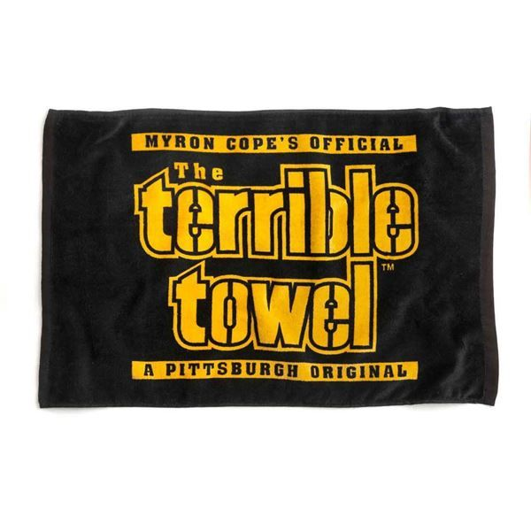 Picture of Pittsburgh Steelers Black Terrible Towel