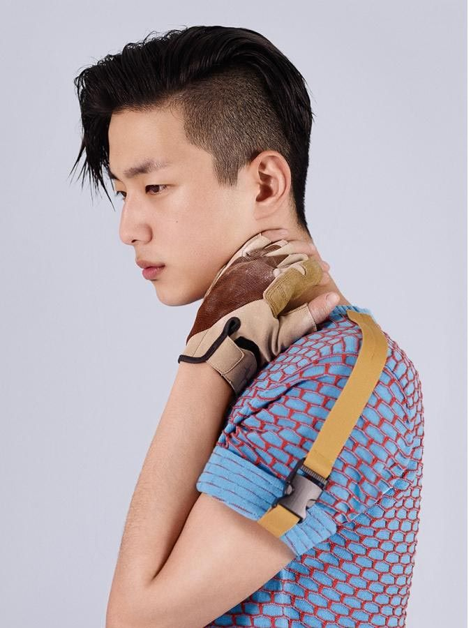 Asian Undercut Hairstyle