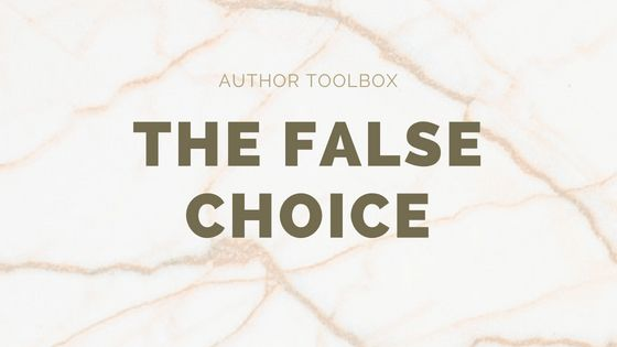 The False Choice: The Manuscript Shredder explains what's wrong with the false choice in your query letter or synopsis, and how to fix it #WriteTip