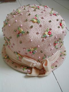 50's/early 60's cloche hat