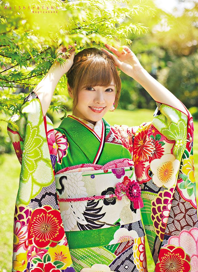 asheron02: Shiraishi Mai | Nogizaka46 Shiraishi Mai Kimono | Kyoto Sweet Collection | Part 4