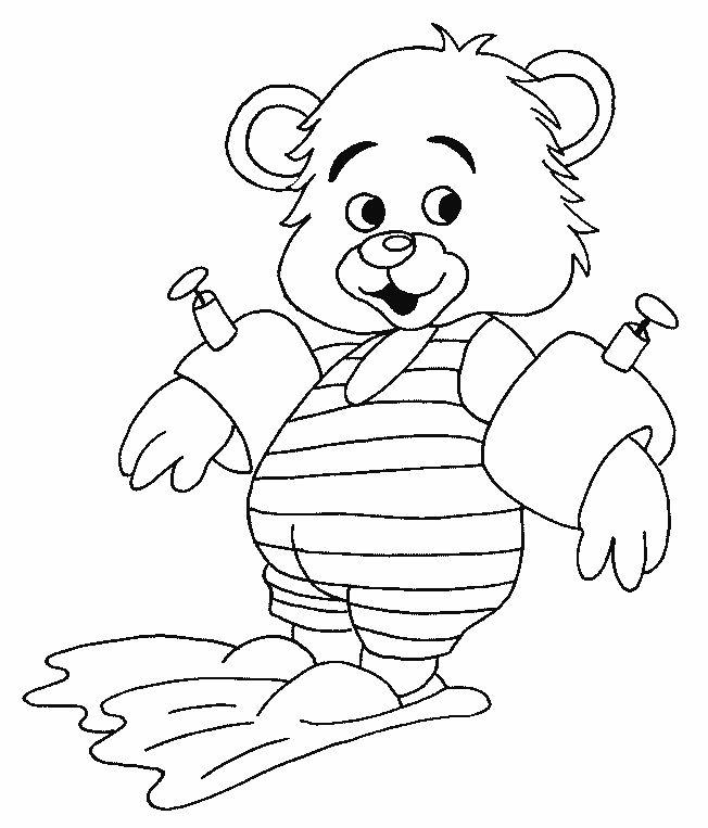 Dieren Kleurplaten voor kinderen. Kleurplaat en afdrukken tekenen nº 273