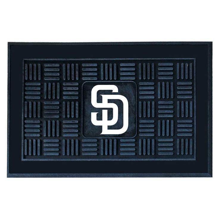 San Diego Padres MLB Vinyl Doormat (19x30)