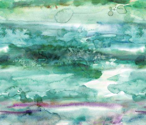Watercolour - 26 fabric by heytangerine on Spoonflower - custom fabric