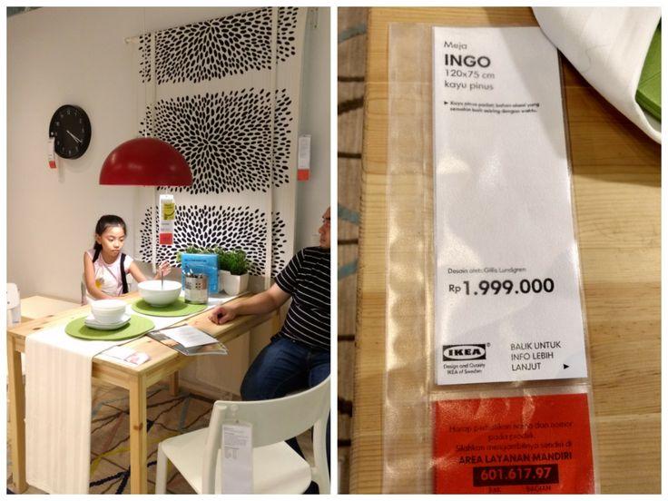 Dining table Ikea indonesia