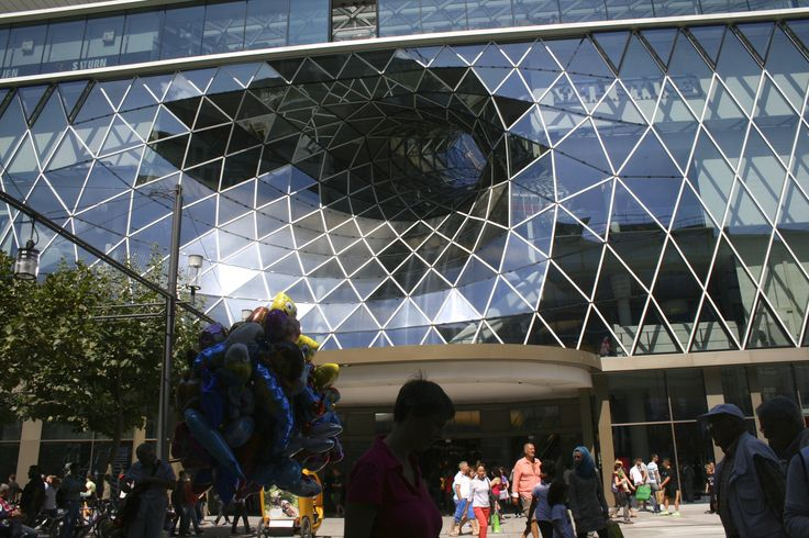 Huge mall in Francfort