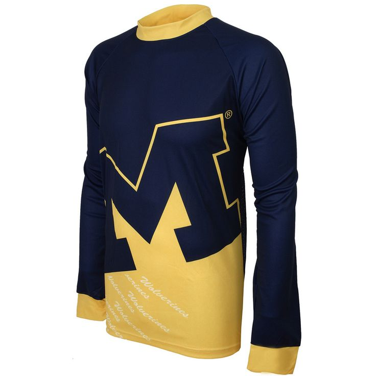 Michigan Wolverines NCAA Mountain Bike Jersey (XX-Large)