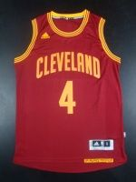 2016 NBA Cleveland Cavaliers 4 Shumpert Red Jerseys