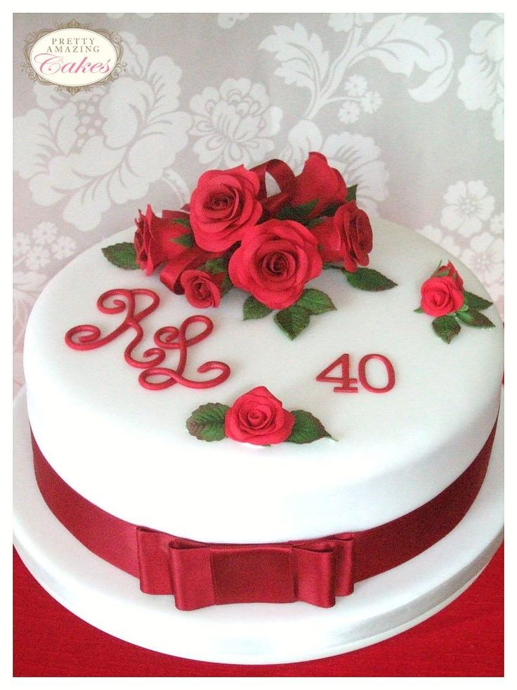 Anniversary cake makers Bristol: silver, ruby, golden, pearl, diamond, platinum wedding anniversary cakes for all milestones