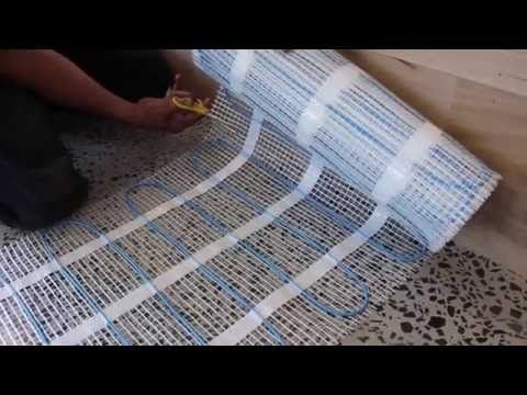 ANSWERED: How to Install an Underfloor Electric Heating Mat