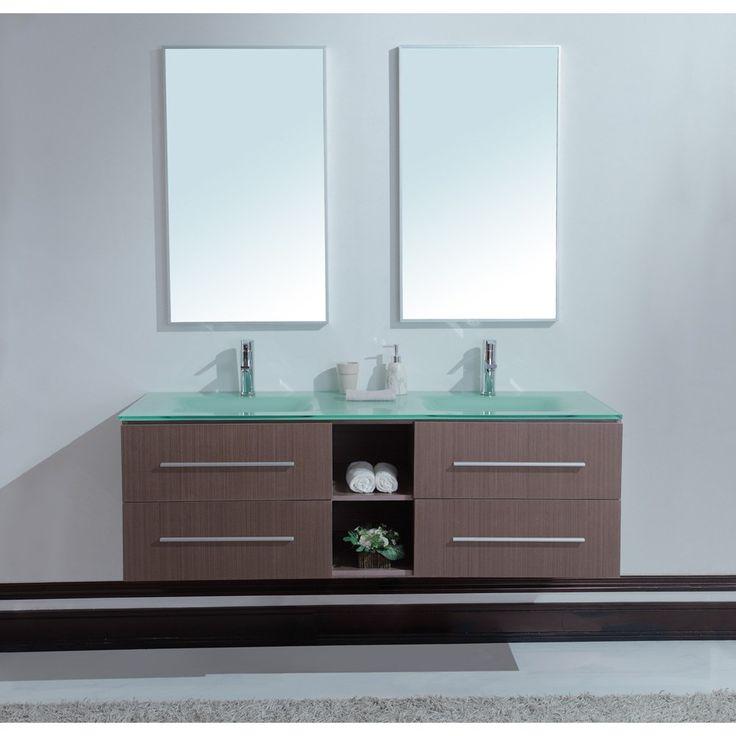 37 best images about bathroom vanities on pinterest - Double sink vanities for small bathrooms ...