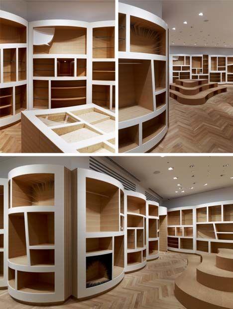 best 25 shop shelving ideas on pinterest. Black Bedroom Furniture Sets. Home Design Ideas