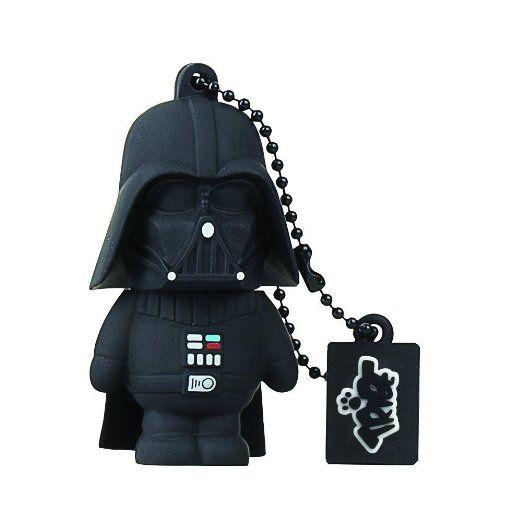 Tribe Disney Star Wars Pendrive Figur USB Stick 8GB Speicherstick Lustig USB Flash Drive 2.0, Memory Stick, USB Gadget, Schlüsselanhänger Kappenhalter - Darth Vader (Schwarz)