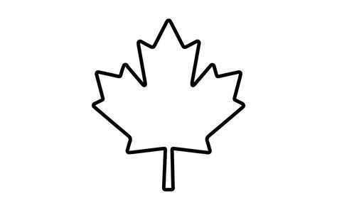 Canadian Maple Leaf Coloring Page | Mewarnai - ClipArt Best - ClipArt Best