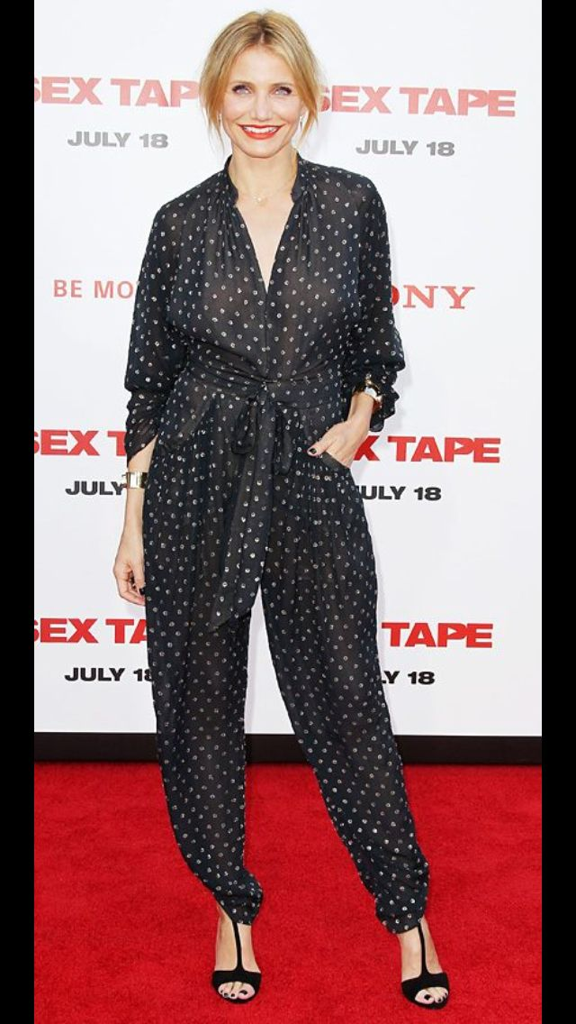 Caneron Diaz in Stella McCartney