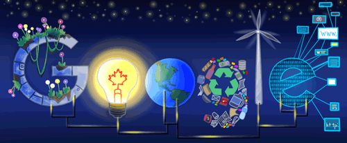 "Doodle 4 Google Canada 2017 Winner! - ""A Bright Future"" by Jana Sofia Panem"