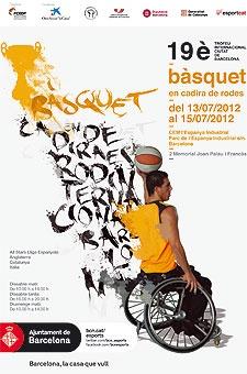 Dinovè Ciutat de Barcelona de Bàsquet amb cadira de rodes