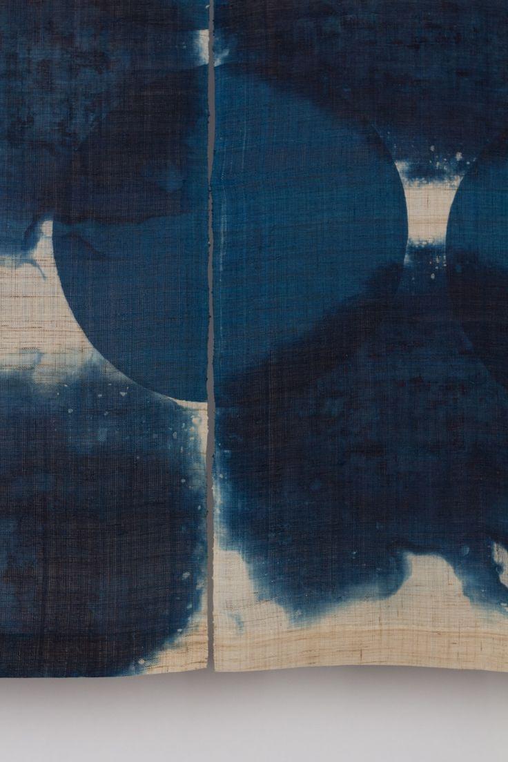 Dyed circles ~ Rowland & Chinami Ricketts