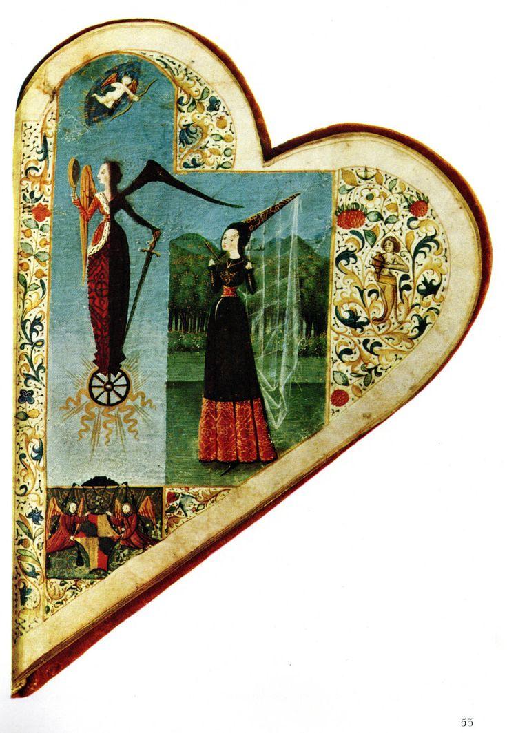 Courtly St. Valentine's inspiration.