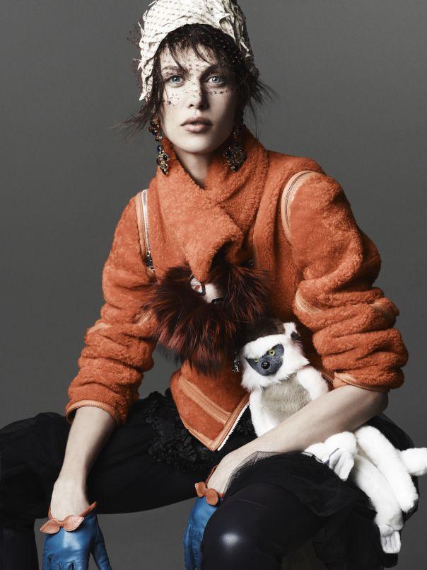 Wild At Heart | Vogue Corea noviembre de 2013, Aymeline Valade Por Rafael Stahelin
