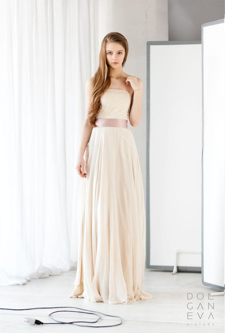 Очень просто и невероятно нежно! Свадебный look. Very simple and incredibly soft! bridal look