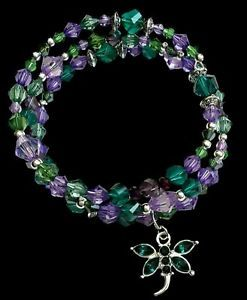 Hand-crafted-crystal-beaded-bracelet